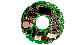 Round printed circuit board