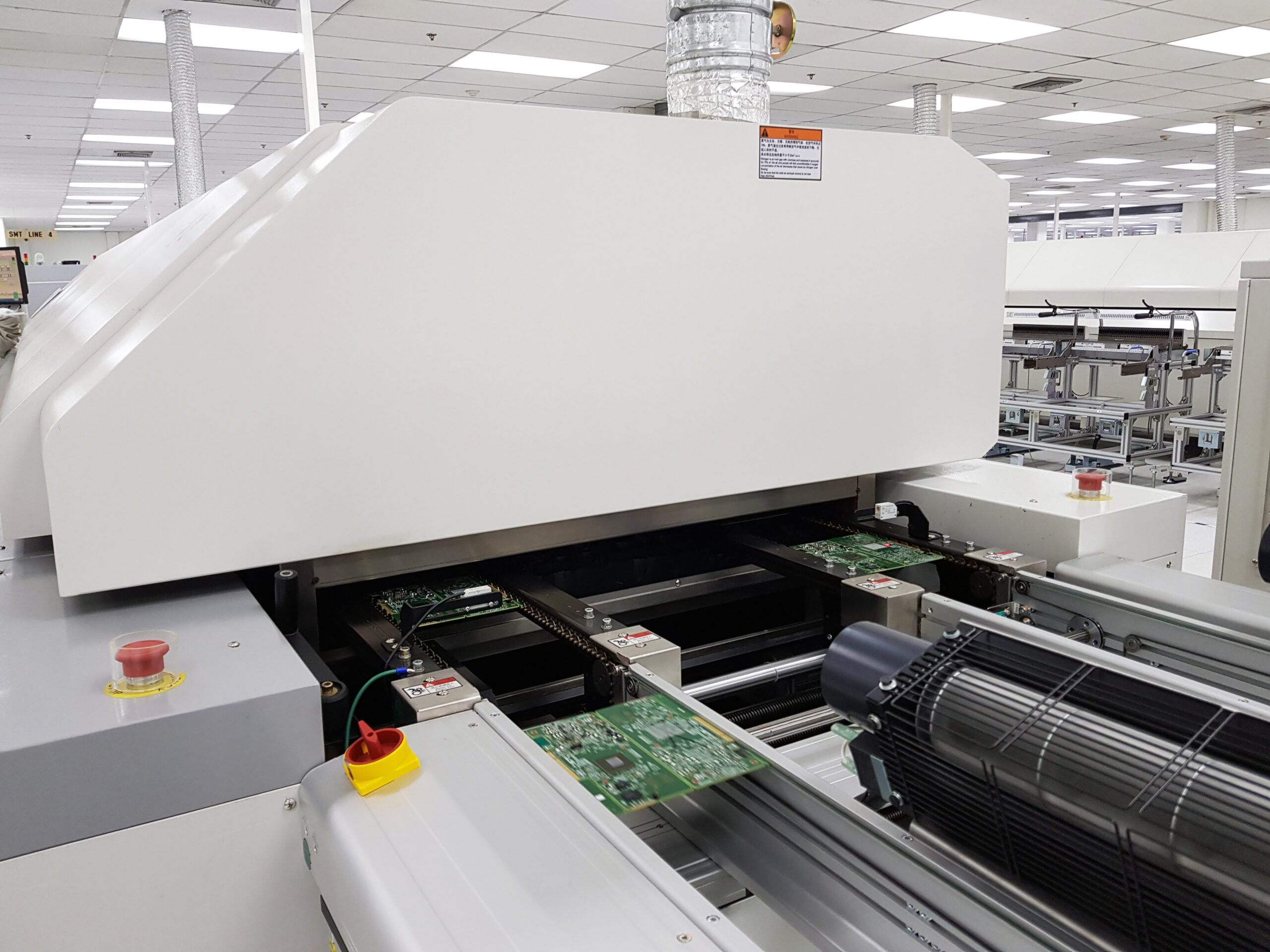 PCB Assembly Reflow Oven